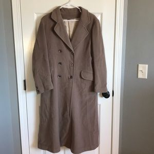 Forecaster of Boston 100% wool trench coat